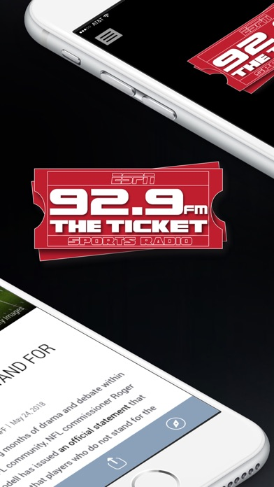 messages.download 92.9 The Ticket (WEZQ) software
