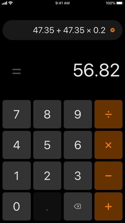 Essential Calculator screenshot-5