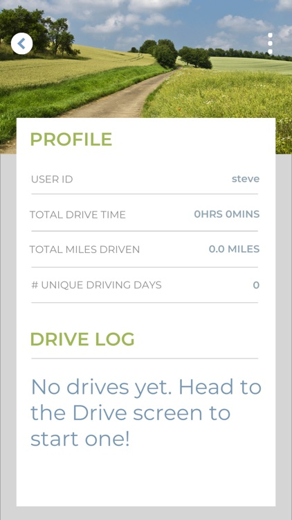 The Driving App