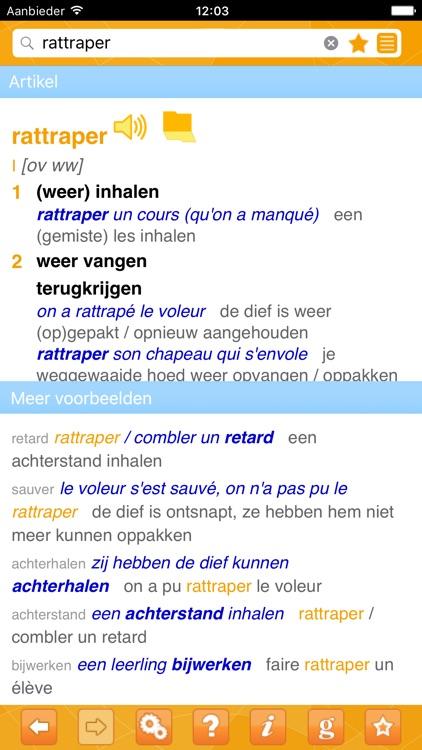Woordenboek Frans Prisma screenshot-4