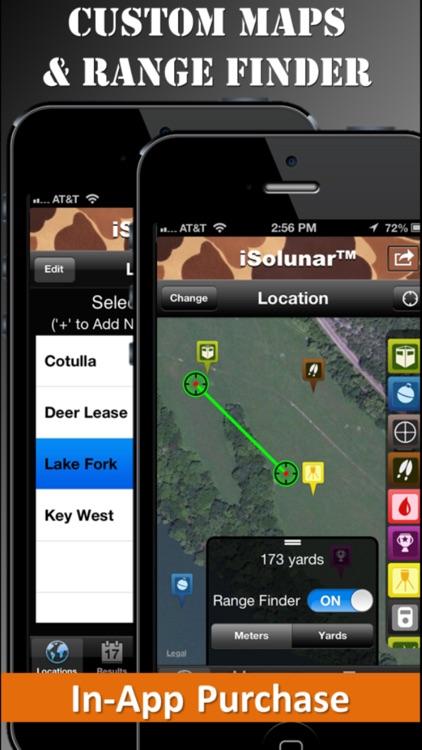 iSolunar™ Hunt & Fish Times screenshot-3