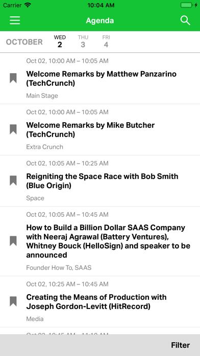 TechCrunch Disrupt Events screenshot 5