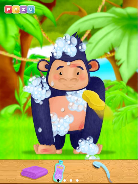 子供向けのジャングル獣医ゲーム Animal Doctorのおすすめ画像3