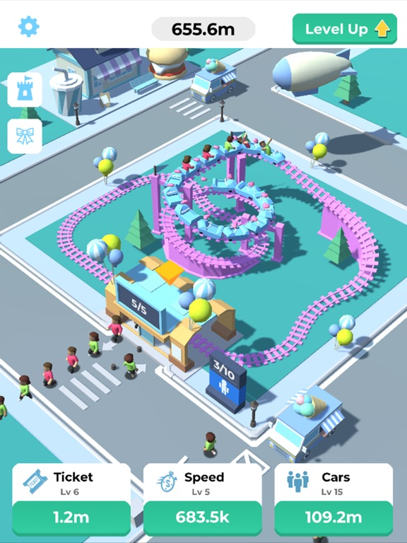 Idle Roller Coaster screenshot 9
