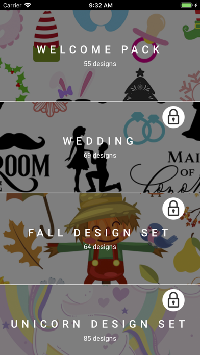 Screenshot for Monograms for Cricut Cutting in United States App Store