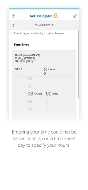 SAP Fieldglass Time Entry on the App Store