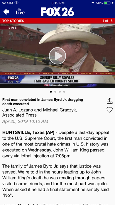 Fox 26 News review screenshots