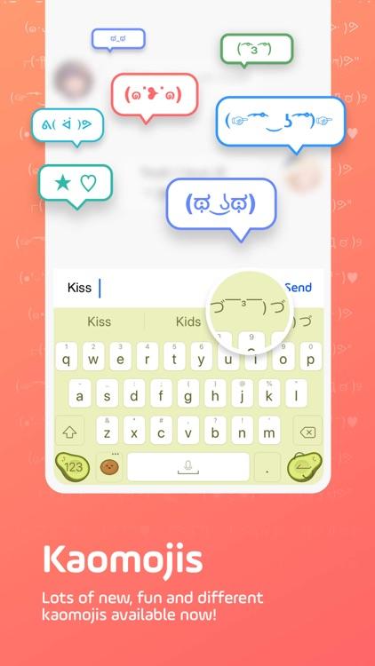 Facemoji Keyboard: Emoji&Fonts screenshot-7