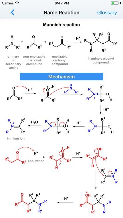Organic Reactions screenshot-6