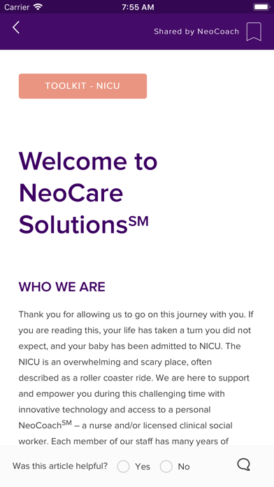 NeoCare screenshot four