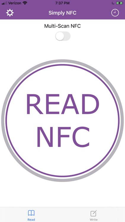 Simply NFC - Tag Writer/Reader screenshot-0