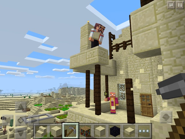 best version of minecraft for ipad