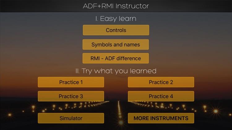 ADF + RMI (IFR) Instructor