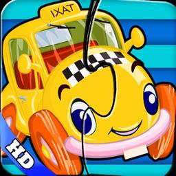 Kids vehicles puzzles