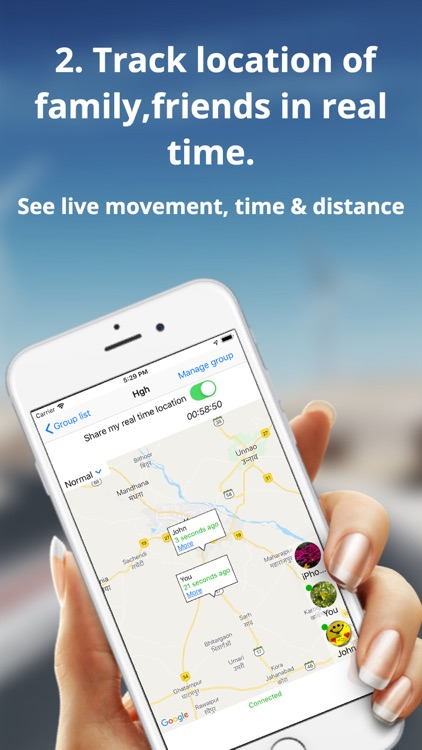Tracker 8 : Track a cell phone