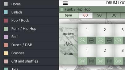 Screenshot #3 pour Drum Loops HD