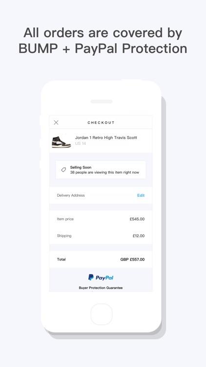 BUMP - Buy & Sell Streetwear screenshot-3