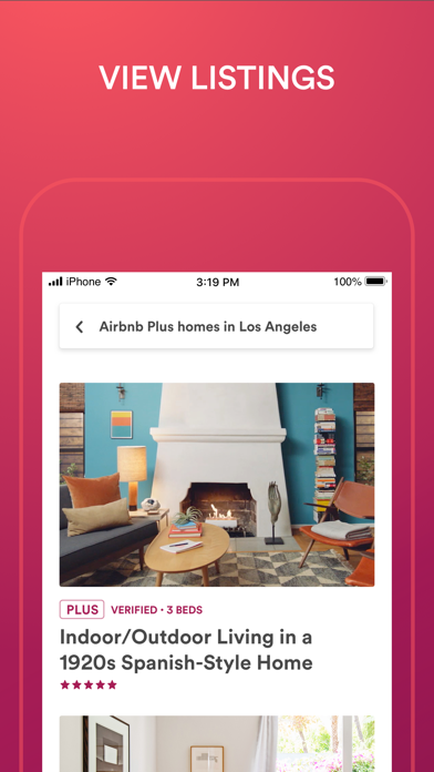 Airbnb review screenshots