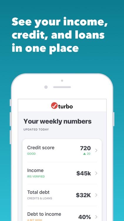 Turbo: Scores-Income & Credit screenshot-4