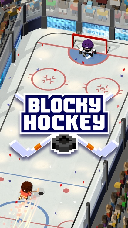 Blocky Hockey screenshot-0