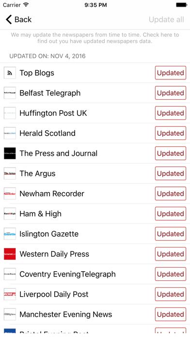 Uk Newspapers Daily News screenshot four