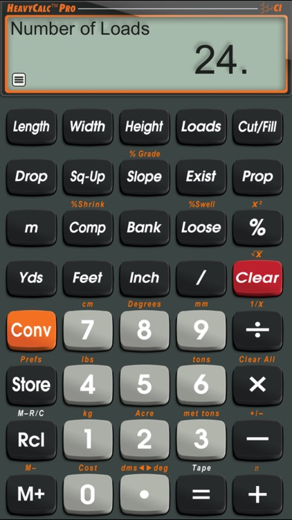 HeavyCalc Pro screenshot-1