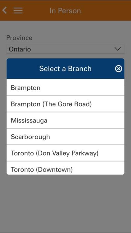 ICICI Bank Canada iMobile screenshot-4