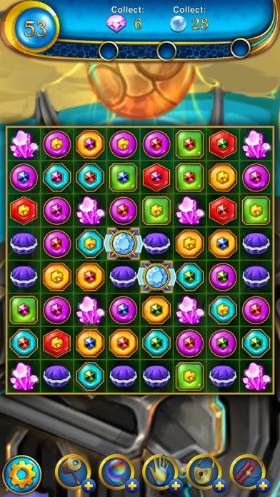 Lost Jewels - Match 3 Puzzle Screenshot