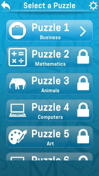 Screenshot for Word Search: Strain your brain in Philippines App Store
