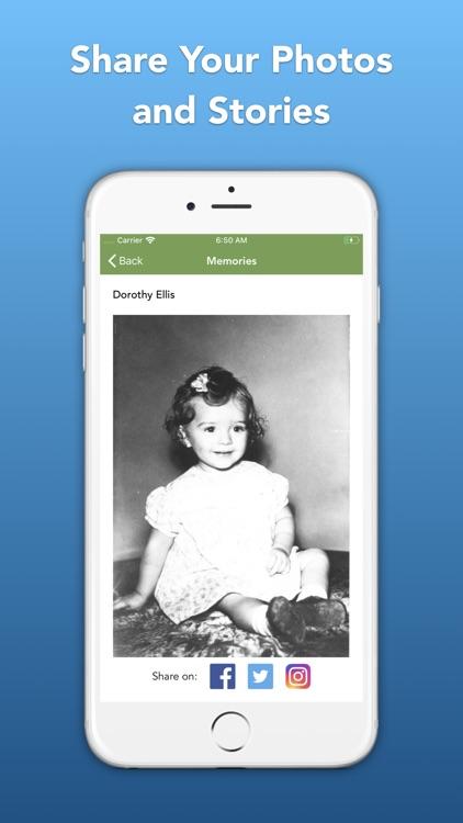 Memories Book Family History screenshot-6