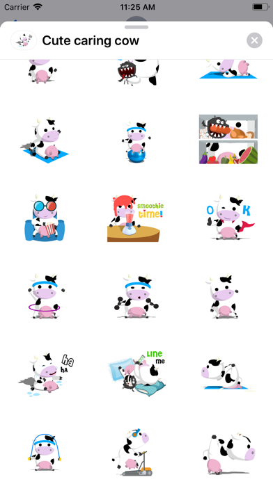 Cute caring cow screenshot 2