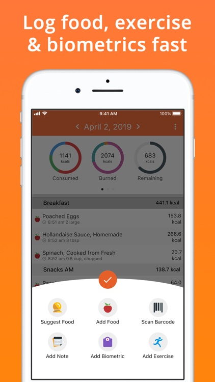 Cron-o-Meter Nutrition Tracker screenshot-4