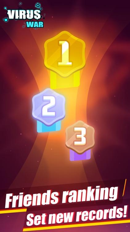 Virus War- Space Shooting Game screenshot-5