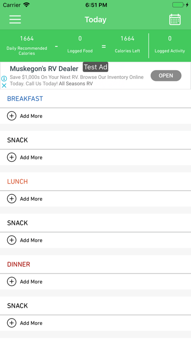 Calorie Calculator - EatRytte screenshot 2
