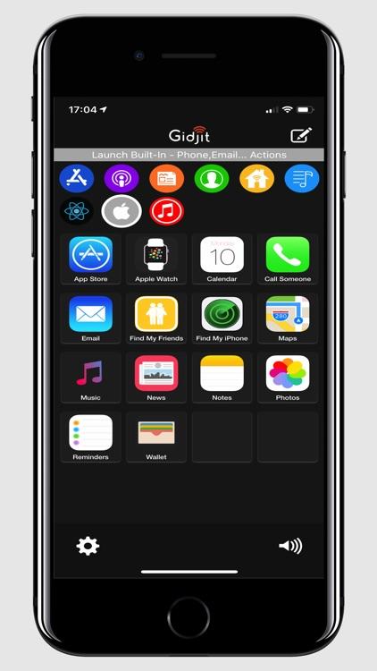 Gidjit - Smart Launcher screenshot-4