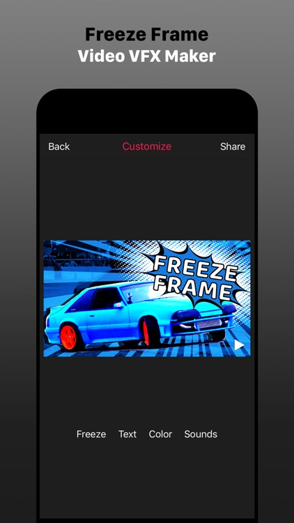 Freeze Frame Intro Movie Maker screenshot-0
