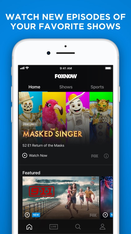 FOX NOW: Watch TV & Sports screenshot-0