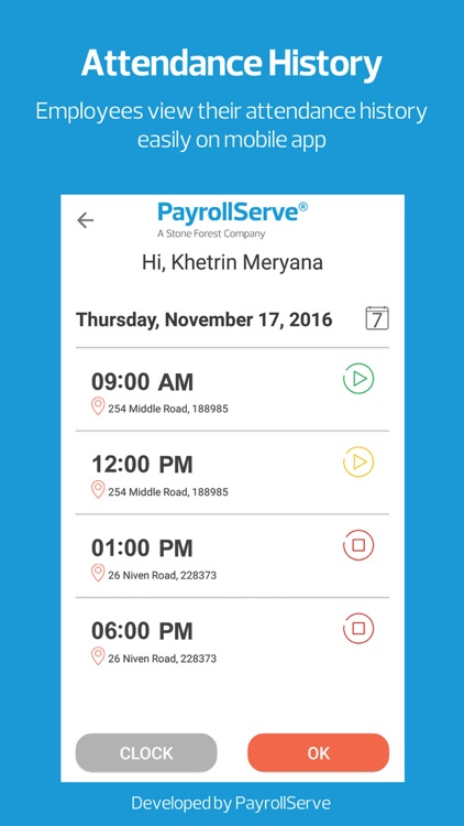 PayDay! TimeClock