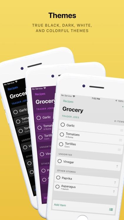 Grocery - Smart Shopping List screenshot-4