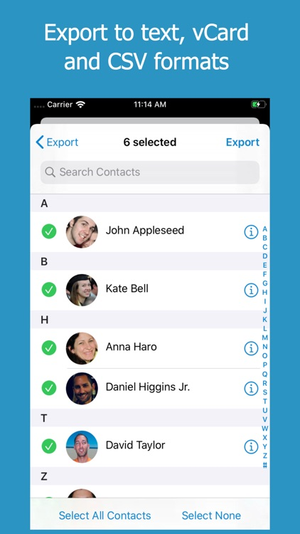 ContactsXL 2 screenshot-9