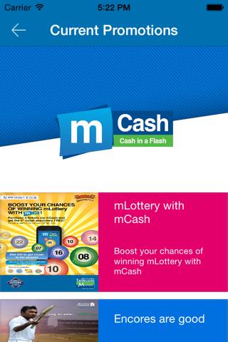 Mobitel mCash - náhled