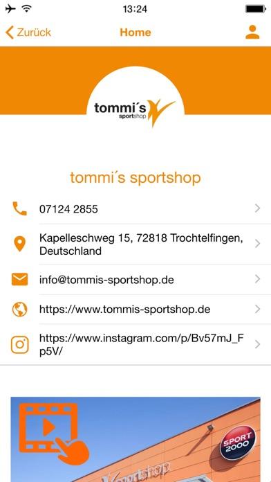 tommi´s sportshopScreenshot von 2