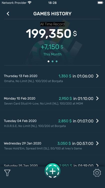 Poker Stack - Bankroll Tracker screenshot-3