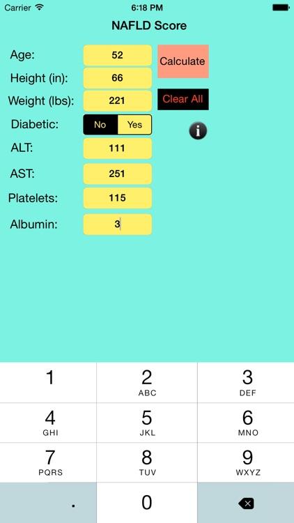 NAFLD Score