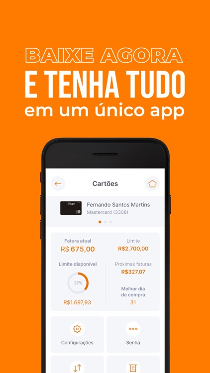 Banco Inter: simples e online! screenshot-4