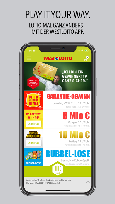 Westlotto Android App