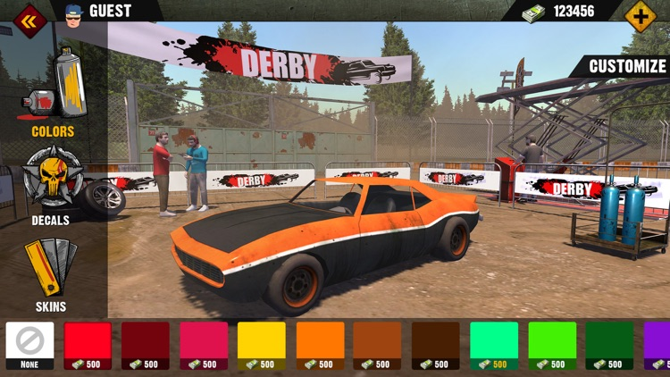 Demolition Derby 2019 screenshot-7