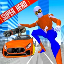 Super Spider City Flying Hero