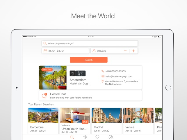 Hostelworld: Book Hostel Rooms on the App Store