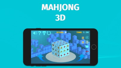 Mahjong 3D Cube Deluxe Game